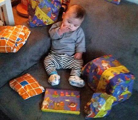 Matthias's 1e Sinterklaas